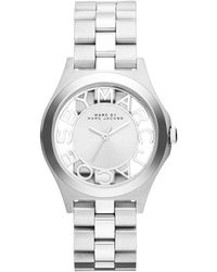 Marc By Marc Jacobs - Henry Skeleton 34mm Watch - Lyst