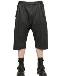 Vivienne Westwood - Coated Heavy Cotton Jersey Shorts - Lyst