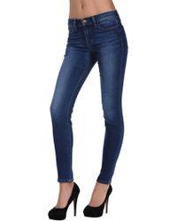 Joe's Jeans Petitie Skinny In Angialee blue - Lyst