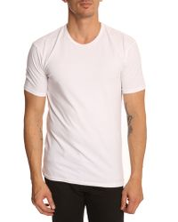 Calvin Klein | Pack Of 2 White T-shirts | Lyst