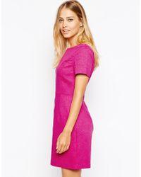 Oasis Jacquard Tailored Dress - Lyst