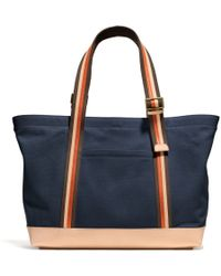 Coach Bleecker Beach Tote in Canvas - Lyst