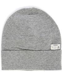 DIESEL | Grey K-raw Logo Hat | Lyst