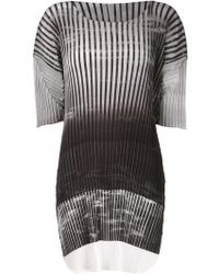 Issey Miyake Forest Pleats Top - Lyst