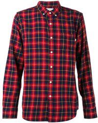 Obey Plaid Shirt - Lyst