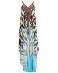 Camilla Exclusive Savanna Asymmetric Maxi Dress - Lyst