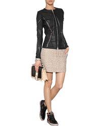 Zadig & Voltaire Jacquard Mini-skirt - Lyst