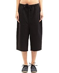 Marvielab - Womens Textured Short Jogging Trousers - Lyst