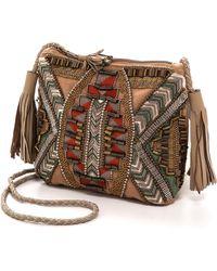 Antik Batik Inka Pouch - Beige - Lyst