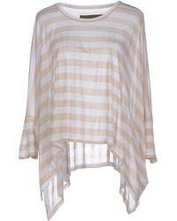 Enza Costa T-Shirt white - Lyst