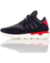 Adidas | Tubular Moc Runner In Core Black | Lyst