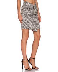 IKKS - High Waisted Skirt - Lyst