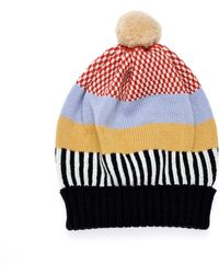 Margot & Me - Knit Hat Holly - Lyst