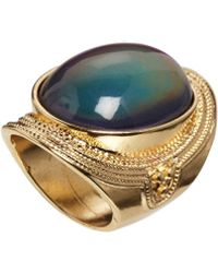 Asos Large Stone Mood Ring - Lyst