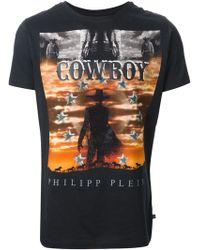 Philipp Plein Wild West Tshirt - Lyst
