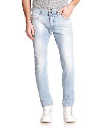 Diesel Thavar Denim Jeans - Lyst