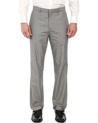 Calvin Klein High-Low End On End Pants - Lyst