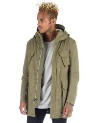 Wings + Horns   Alpha Combat Parka In Sage   Lyst
