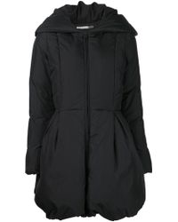 Alice + Olivia Black Padded Jacket - Lyst