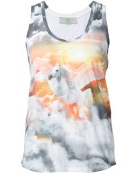 Stella McCartney Pegasus Vest multicolor - Lyst