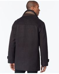 Calvin Klein | Single-breasted Scarf Overcoat | Lyst