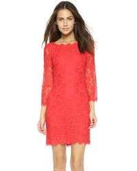 Dvf Red Dress Diane von Furstenberg Zarita