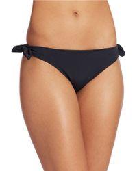 Shoshanna Side Bow Bikini Bottoms - Lyst