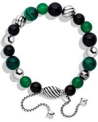 David Yurman Spiritual Beads Bracelet - Green