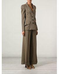 Biba - Chequered Trouser Suit - Lyst