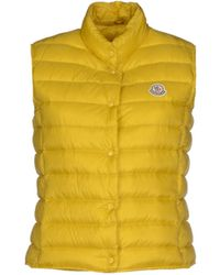Moncler Down Jacket yellow - Lyst