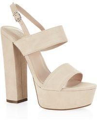 Carvela Kurt Geiger Glamorous High Heel Sandal - Lyst