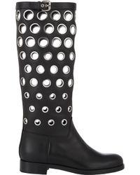 Christian Louboutin Apollobotta Knee Boots - Lyst