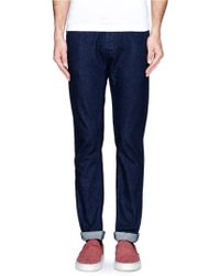 Mauro Grifoni Slim Fit Jeans - Lyst