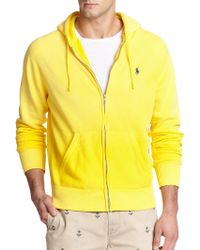Polo Ralph Lauren Full-Zip Fleece Hoodie - Lyst