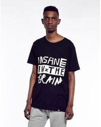 Cheap Monday Insane Brain Print T Shirt - Lyst