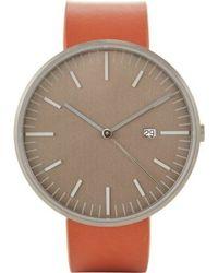 Uniform Wares Brown 203kk-04 Watch - Lyst