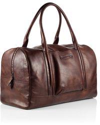 BOSS Orange - Weekender Bag 'Handcrafted' In Leather - Lyst