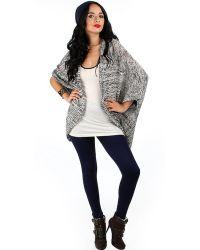 Fashion Club USA - Solid Fleece Leggings - Lyst