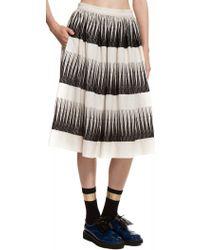 Suno Full Midi Skirt - Lyst