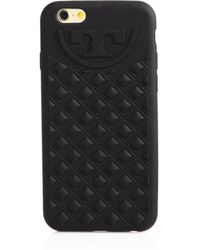 Tory Burch Fleming Silicone Iphone 6 Case - Lyst