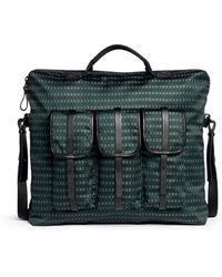 Lanvin Tie Print Jacquard Shoulder Bag - Lyst