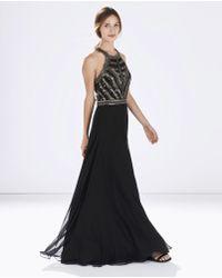 Parker Normandy Dress black - Lyst