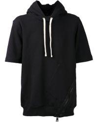 Drifter Side Zip Hooded Sweater - Lyst