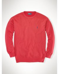 Polo Ralph Lauren Terry Crewneck Sweatshirt - Lyst