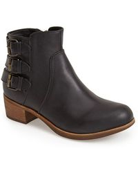Ugg 'Volta' Leather Ankle Boot - Lyst