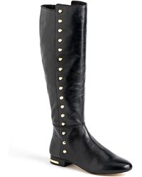 MICHAEL Michael Kors Ailee Leather Boots - Lyst