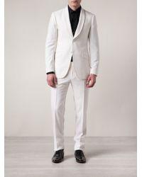 Moschino Tailored Suit - White