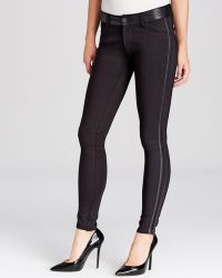 Kut From The Kloth - Diana Faux Leather Trim Leggings - Lyst