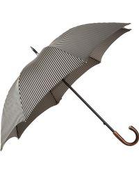 Barneys New York - Herringbone Stripe Stick Umbrella - Lyst