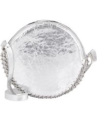 Paco Rabanne 14#02 Circle Shoulder Bag silver - Lyst